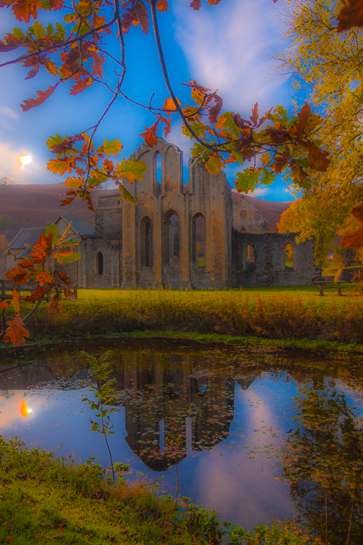 Autumn at Valle Crucis Abbey