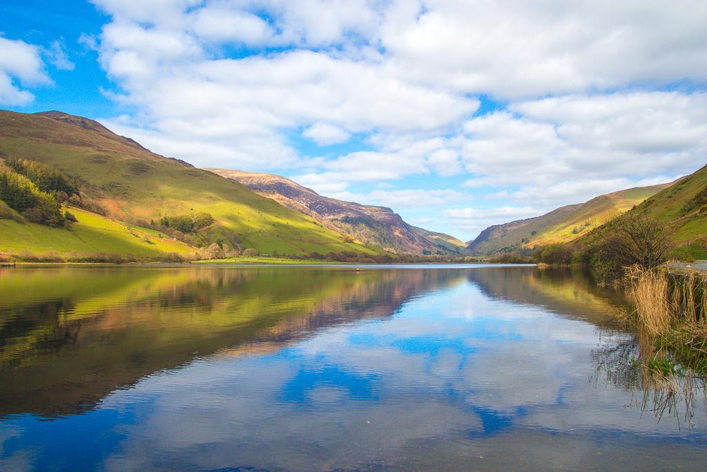 Tal Y Llyn Lake in Snowdonia NationalPark